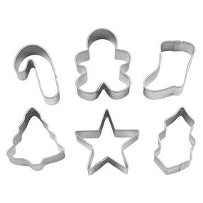 Wilton® 6-Pc. Christmas Oven Mitt Mini Cookie Cutter Set