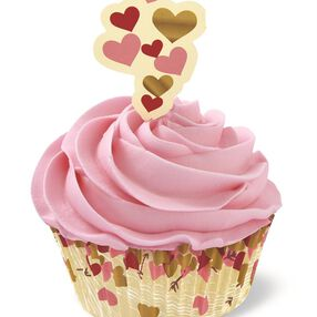 Wilton Hearts and More Cupcake Combo Pack, 24-Count