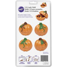 Wilton 3D Pumpkin Candy Mold