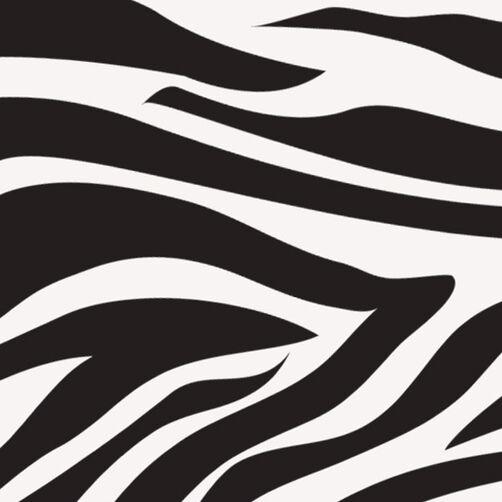 Zebra Sugar Sheets Edible Decorating Paper