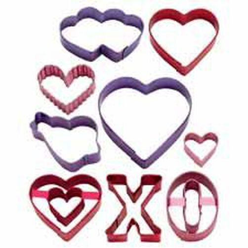 Valentine Color Anodized Cutter Set