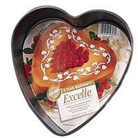 Excelle Premium Non-Stick 9-inch Heart Pan