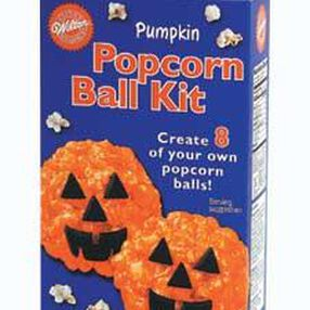 Halloween Pumpkin Popcorn Ball Kit