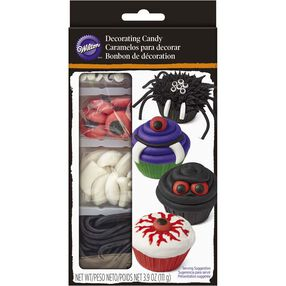 Wilton Halloween Monsters Cupcake Decorating Candy