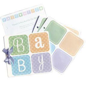 Baby Block Guest Book