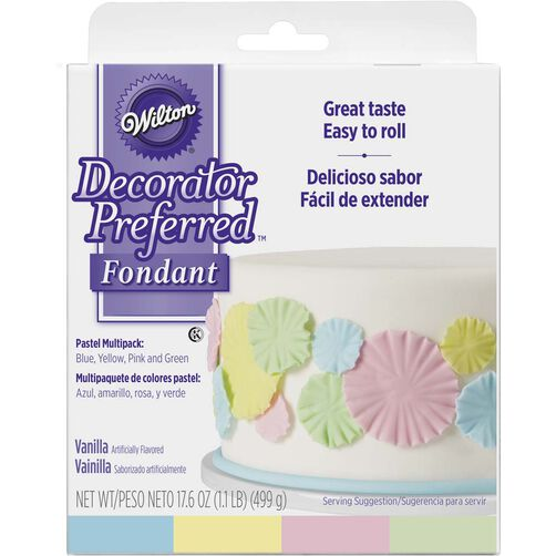 Decorator Preferred Pastel Fondant