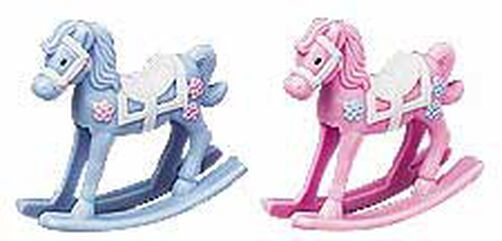 Rocking Horses Favor Accents