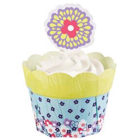 Peony Flower Pot Kit Cupcake Combo