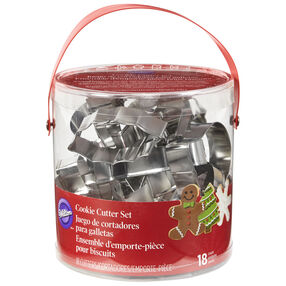 Holiday Shapes Metal Cookie Cutter Set