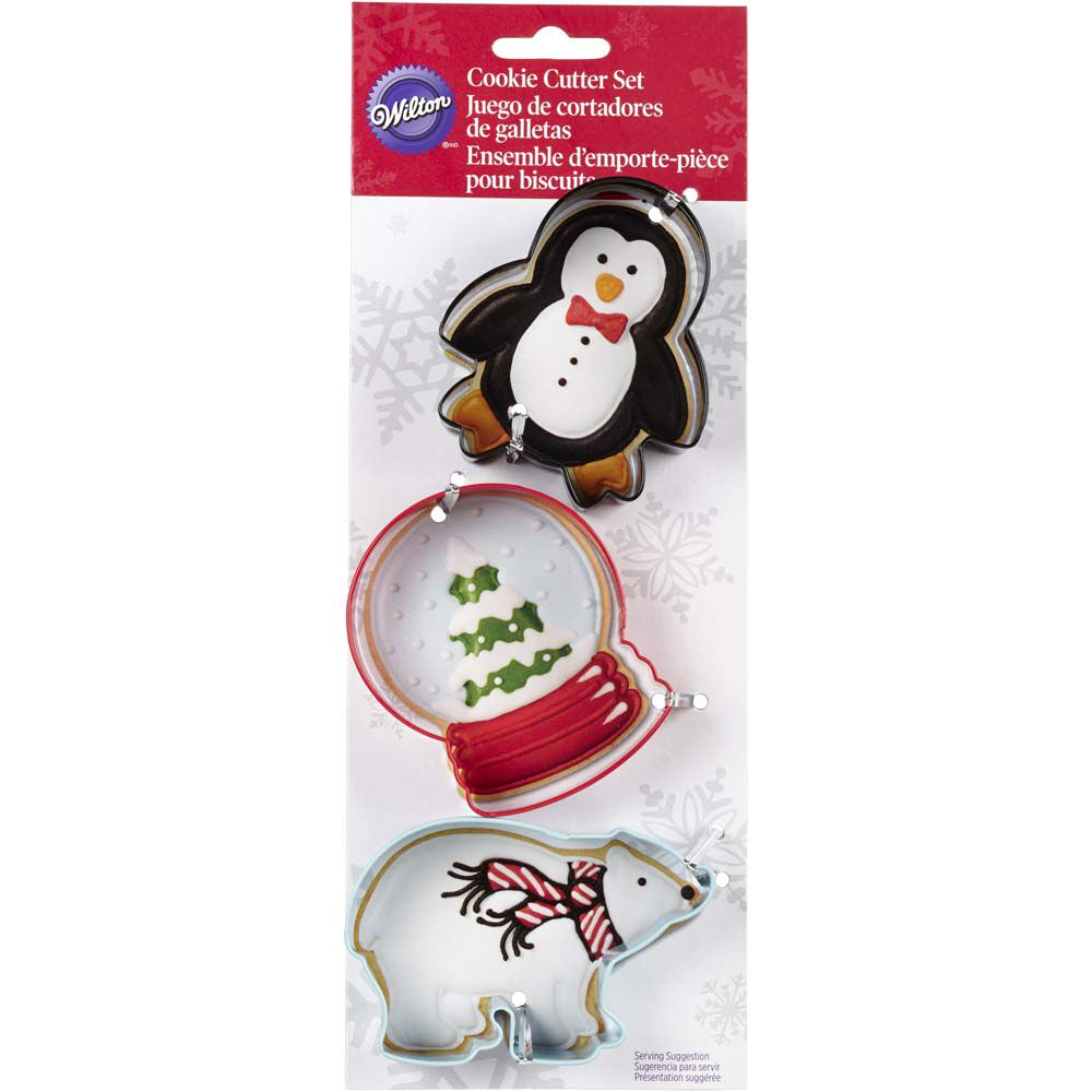 Christmas Polar Cookie Cutters | Wilton