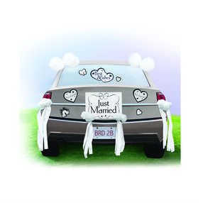 Wedding Car Decorating Kit