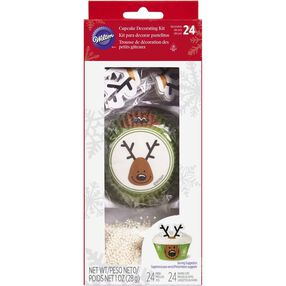 Reindeer Cupcake Decorating Kit