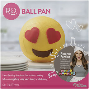 Ro 3D Ball Pan with silicone rings