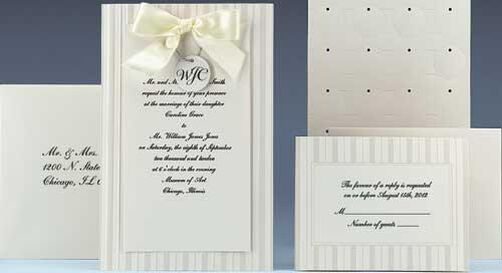 Simple Yet Elegant (Ivory) Invitation Kit