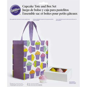 Cupcake Tote & Box Set
