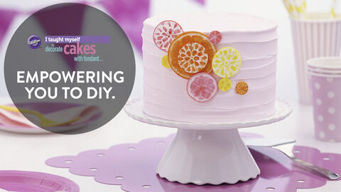 I Taught Myself Fondant Cake Decorating Book Set