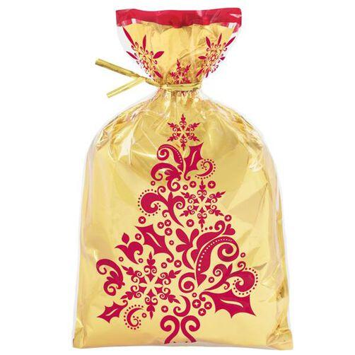 Delightfully Decadent Holiday Foil Insert Treat Bag