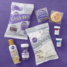 Wilton Purple and Gold Team Color Kit
