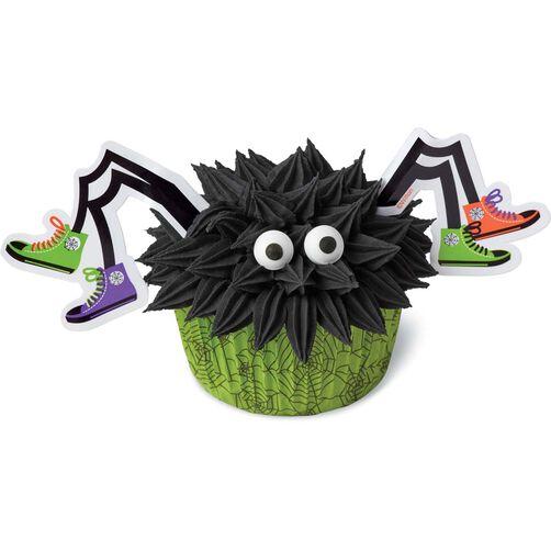 wilton spider halloween cupcake decorating kit
