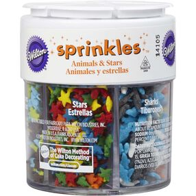Animals & Stars 6-Cell Sprinkles