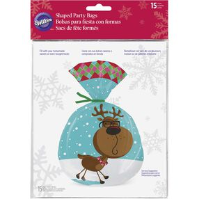 Christmas Sweet Holiday Sharing Shaped Bags