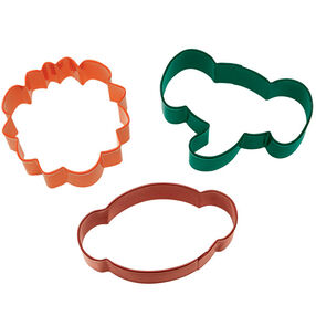 3 Pc. Jungle Pals Cookie Cutter Set