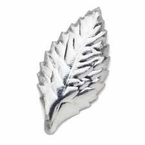 1 7/8 in. Wide Silver Artificial Leaves