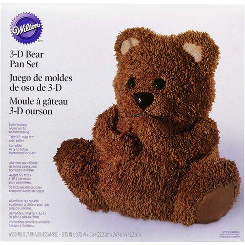 3D Teddy Bear Cake Pan