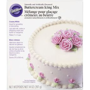 Creamy White Buttercream Icing Mix