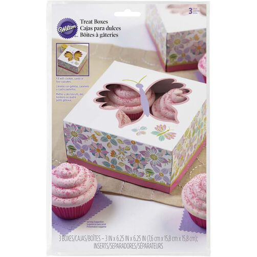 Butterfly's in Bloom Treat Boxes