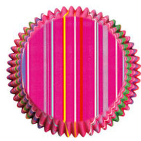 Mini Snappy Stripes Cupcake Liners