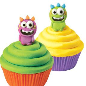 Wilton Monster Royal Icing Decorations, 12 Ct. 710-0230