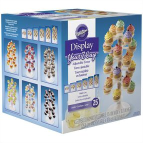 Wilton Display Your Way? Adjustable Cupcake Tower