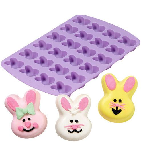 24 Cavity Bunny Silicone Mold Wilton