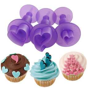 Wilton Hearts Mini Fondant Cut-Outs Set 1907-1346