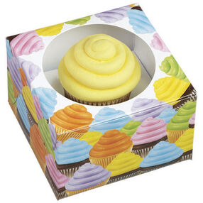 Wilton Cupcakes Single Cupcake Treat Boxes, 3 Count 415-2375