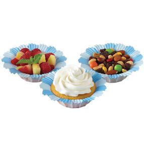 Blue Blossom Cupcake Liners