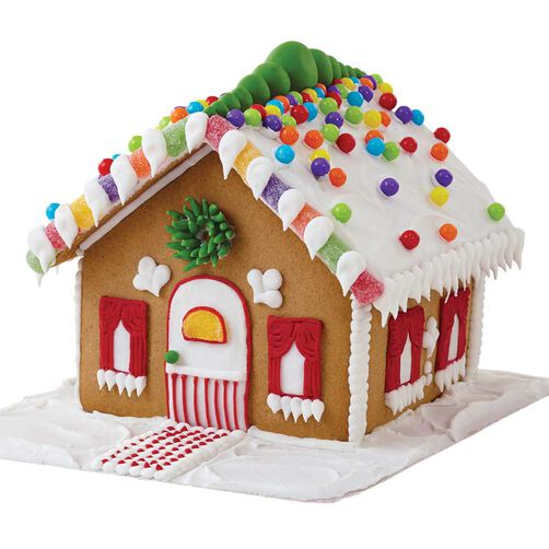 Pre Baked Gingerbread House Decorating Kit Wilton
