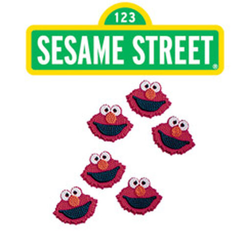 Elmo Icing Decorations