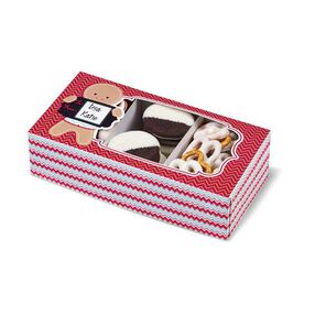 Wilton Christmas Holiday Sweet Swap Rectangle Treat Boxes, 3-Ct.
