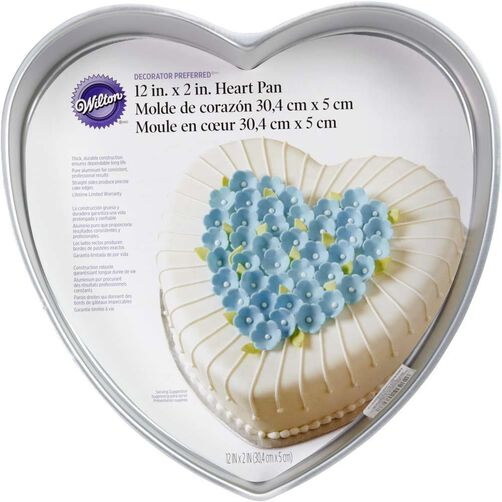 Wilton Cake Pans - Decorator Preferred 12 x 2 Heart Cake Pan