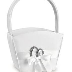 Infinity Wedding Day Collection Flower Basket