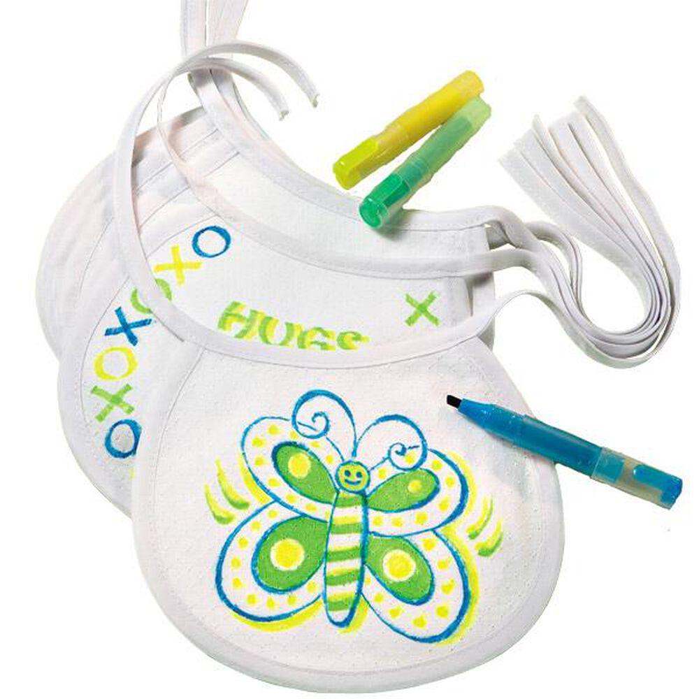 Decorate a bib baby shower game wilton - Wilton baby shower favors ...