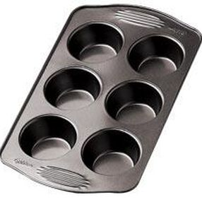 Excelle Elite Non-Stick 6 Cup Muffin Pan