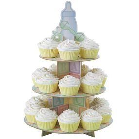 how to assemble a wilton cupcake stand
