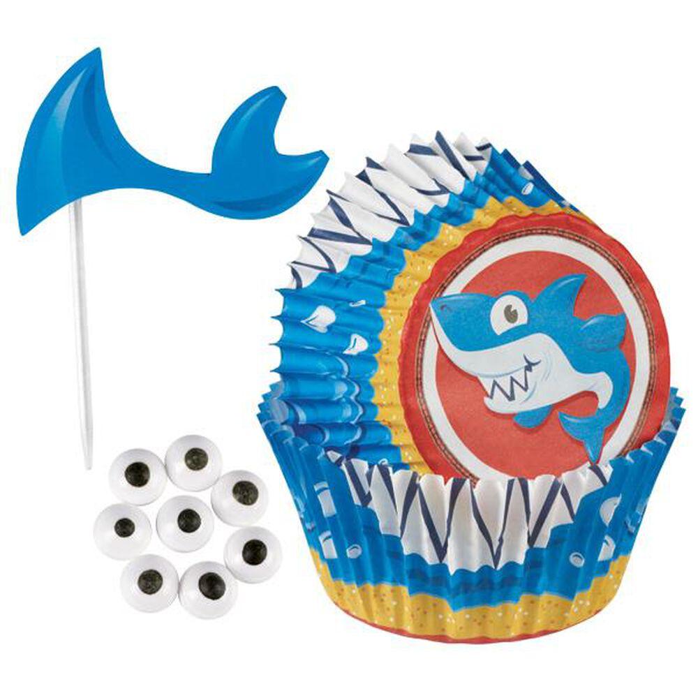 Shark Cupcake Decorating Kit Wilton