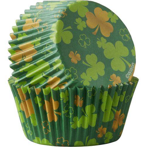 Shamrocks Cupcake Liners