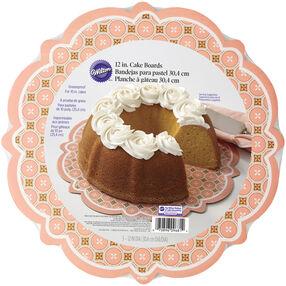 Retro Rounds Cake Plate Set