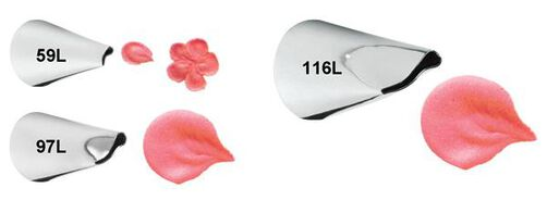 Left Handed Petal Tip Set