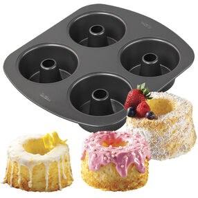 4-Cavity Mini Angel Food Cake Pan